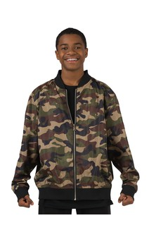 Click for more information about Reversible Camo Bomber Jacket
