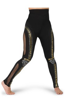 Click for more information about Faux Studded Legging