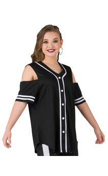 Click for more information about Cold Shoulder Athletic Jersey