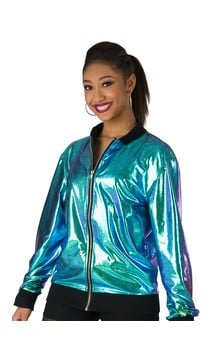 Click for more information about Iridescent Foil Jacket