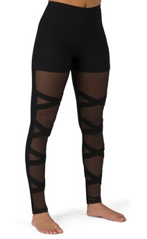Click for more information about Hi-Rise Mesh Criss Cross Legging