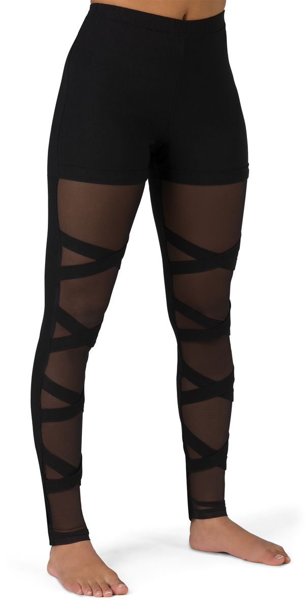 HI-RISE MESH CRISS CROSS LEGGING
