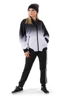Click for more information about Ombre Bomber Jacket