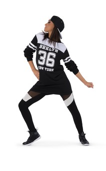 Click for more information about Extra Long Athletic Jersey