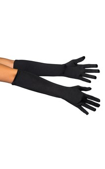 Click for more information about Elbow Length Spandex Gloves