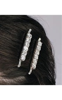 Click for more information about Rhinestone Bobby Pins