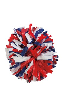 Click for more information about Red, White & Blue Pom Poms