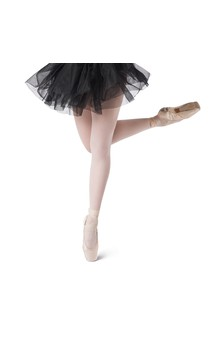Click for more information about Short Tricot Tutu (Black)