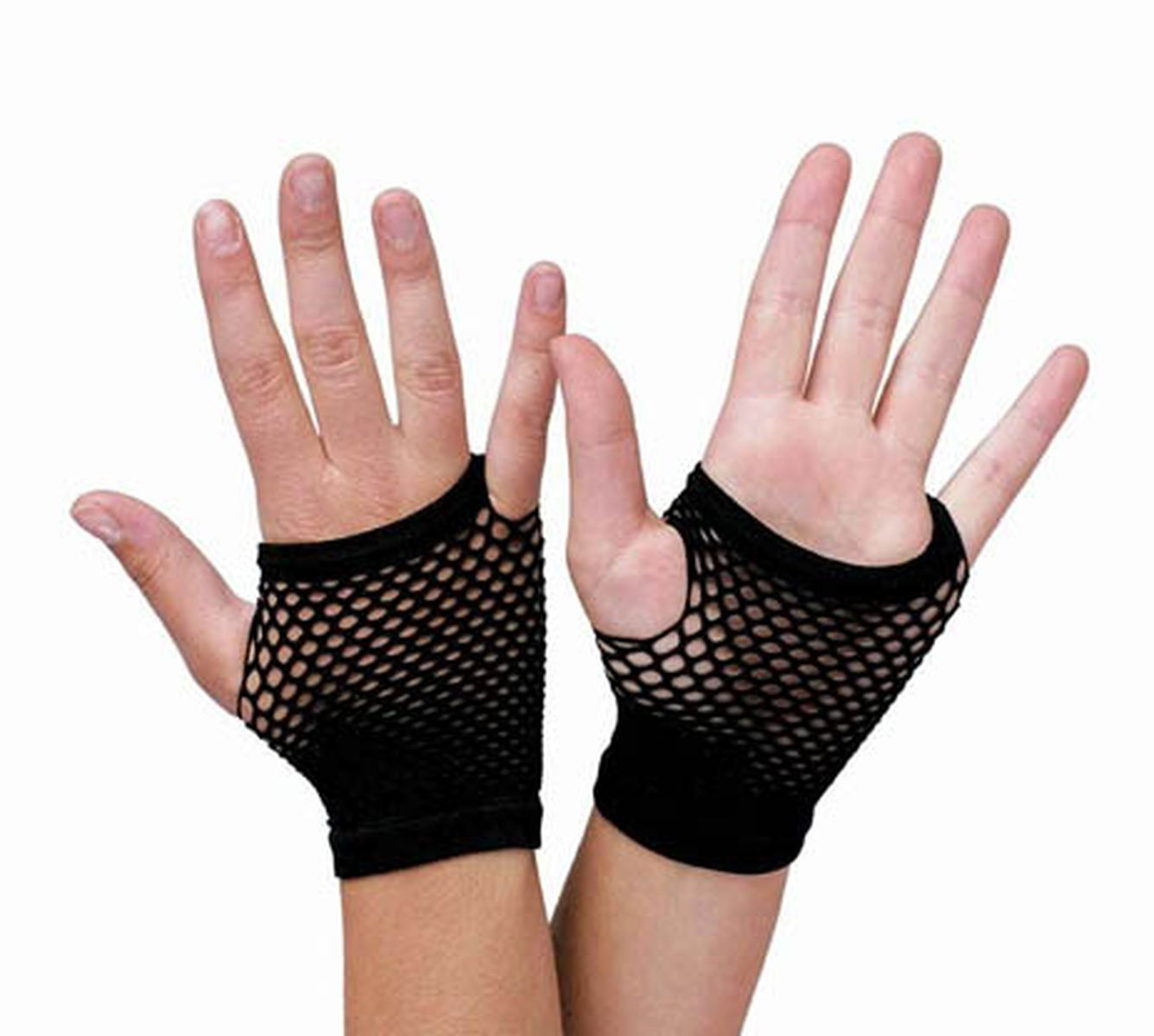 FISHNET MITTS