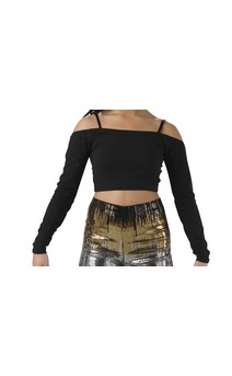 Click for more information about Cold Shoulder Crop