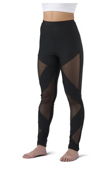 Click for more information about Hi-Rise Mesh Cutout Legging