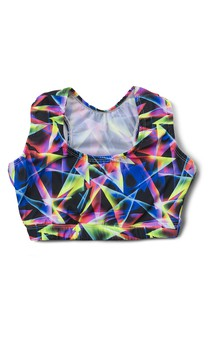 Click for more information about Abstract Print Racerback Bralette