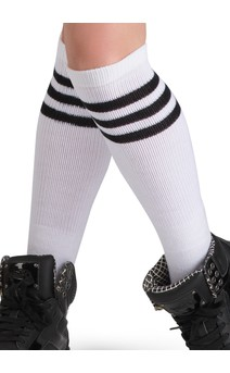 Click for more information about White Knee High Socks