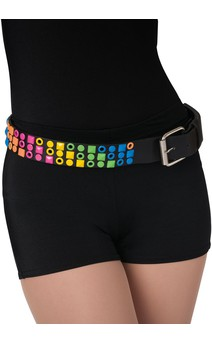 Click for more information about Rainbow Studded Belt