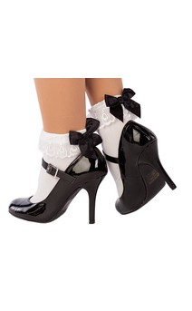 Click for more information about Socks With Bow