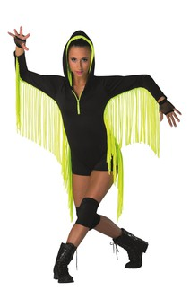 Click for more information about Fringe Shortie Unitard