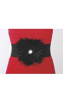 Click for more information about Feather Stretch Belt