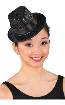 Click for more information about Mini Sequin Fedora