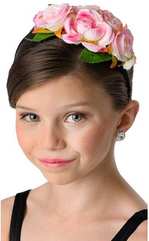 Click for more information about Rose Floral Headband