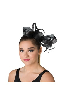 Click for more information about Feather Fascinator