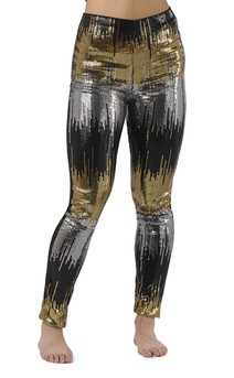Click for more information about Hi-Rise Ombre Sequin Legging