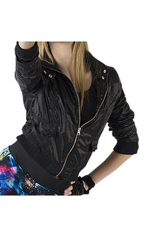 Click for more information about Nylon Bomber Jacket