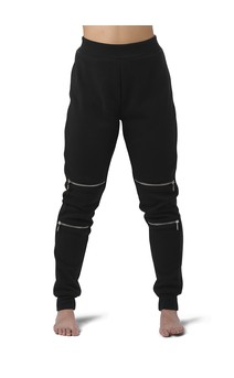 Click for more information about Zipper Detail Athletic Jogger