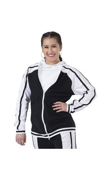Click for more information about Cowl Neck Athletic Pullover