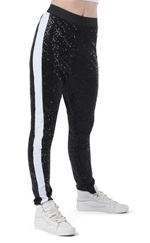 Click for more information about Sequin Drop Crotch Tapered Pant