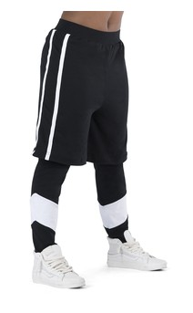 Click for more information about Athleisure Layered Pant
