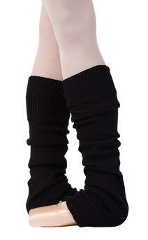 Click for more information about Black Knit Legwarmers