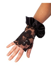 Click for more information about Lace Fingerless Mitts