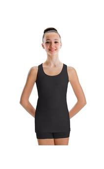 Click for more information about Racerback Extended Length Tank Top Dri-Line