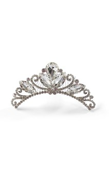 Click for more information about Large Crystal Tiara