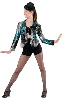 Click for more information about Ladies Sequin Jacket