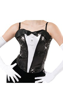 Click for more information about Tuxedo Bustier